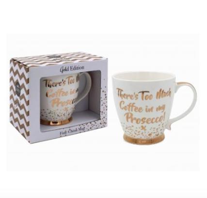 Coffee/Prosecco Mug Fine China Mug
