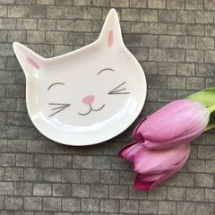 Cat Face Trinket Dish