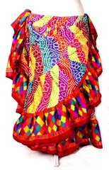 Brand New! DIVALI DIVA RAINBOW GYPSY Skirt