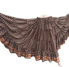 SILKY ATS®Padma Lotus Tribal Bellydance ATS®Tribal Gypsy Skirts