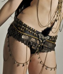 DELUXE FUSION GYPSY PIRATE COIN BELT