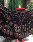 ATS® NEW! Tribal Bellydance Tribal GLITTER Gypsy Skirts
