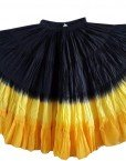BLACK GOLDS DIP DYED ATS®Triple Dip-Dyed Tribal Bellydance Gypsy Skirt