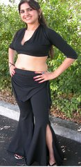 TRIBAL BELLYDANCE GYPSY FLARE PANT