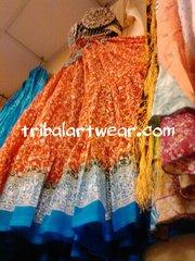 ATS®Amazing MAHARANI ATS Tribal Bellydance Gypsy Skirt