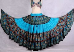 #1 ATS®TRIBAL BELLYDANCE FABULOUS LAYER GYPSY SKIRT