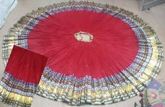 FULL PADMA ATS Tribal Bellydance Gypsy DELUXE Skirt