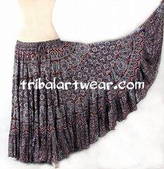 LAXMI JAIPUR Tribal Bellydance Kuchi Gypsy ATS® Skirt