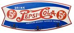 Pepsi Cola Signs Wooden