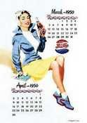 Pepsi Cola Calendar