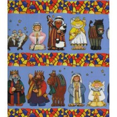Nativity Heavy Christmas Gift Wrapping Paper - 100 Ft Roll