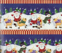 Christmas Follies Gift Wrapping Paper - 36 Ft Roll