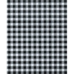 Black Gingham on  White Tissue - 120 Sheets