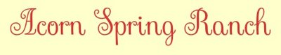 Acorn Spring Ranch LLC