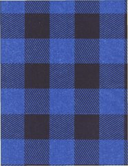 Blue Lumberjack Buffalo Plaid Tissue Paper - 10 Sheets