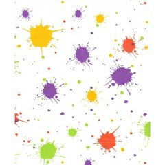 Splatter Paint Ball Tissue Paper - 20 Sheets