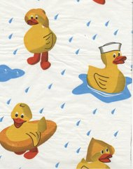 Rubber Ducks Tissue Paper - Ten Sheets