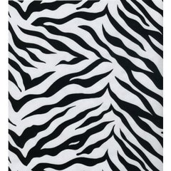Zebra Gift Wrapping Paper - 24 in x 6 ft Sheet