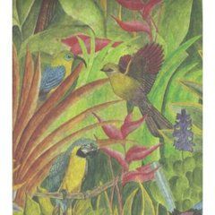 Tropical Birds Tissue Paper - 120 Sheets