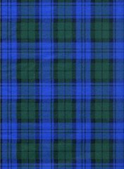 Blue Green Tartan Plaid Tissue Paper - Ten Sheets