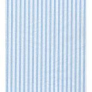 Pale Blue Ticking Tissue Paper - 120 Sheets