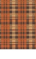 Autumn Tartan Plaid Tissue - 120 Sheets