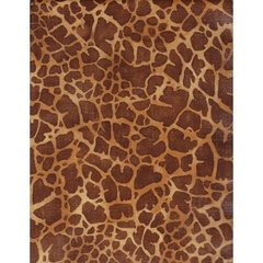 Giraffe Hide Heavy Embossed Gift Wrapping - 5 Ft Sheet