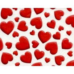 Big Valentine Hearts Tissue Paper - 240  Sheets