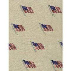 United States Flag Tissue Paper - 120 Sheets