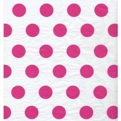 Raspberries Pink Polka Dot Tissue - 120 Sheets