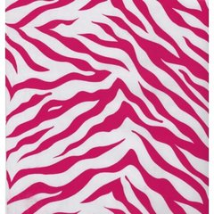 Pink Zebra Gift Wrapping - 6 Foot Sheet