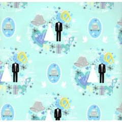 Wedding Gift Wrapping Paper - Two 6 Ft Sheets