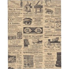 Modern Times Tissue Paper - Ten Sheets