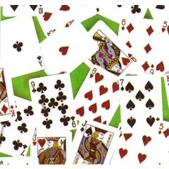 Playing Cards Tissue Paper - Ten Sheets