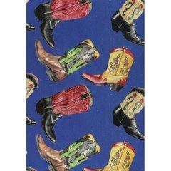 Cowboy Boot Gift Wrapping Paper - 100 Ft. Roll