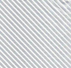 Silver Foil Stripe Christmas Tissue Paper - 120 Sheets
