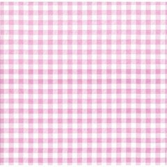 Pale Pink Gingham Tissue Paper - Ten Sheets