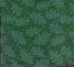 Oak Tree Leaves on Green Tissue Paper - 10 Sheets