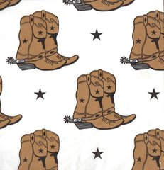Cowboy Boots Western Tissue Paper - 10 Sheets
