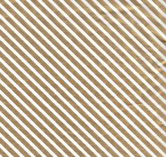 Gold Foil Stripe Christmas Tissue Paper - 120 Sheets