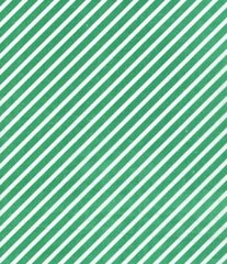 Green Candy Cane Stripe Christmas Tissue Paper - 10 Sheets