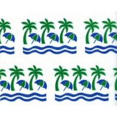 Palm Trees Tissue Paper - Ten Sheets