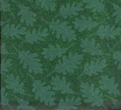 Oak Tree Leaves on Green Tissue Paper - 120 Sheets