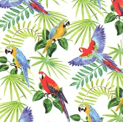 Rain Forest Tropical Birds Tissue Paper - Ten Sheets