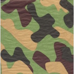 Camouflage Tissue Paper - Twenty Sheets