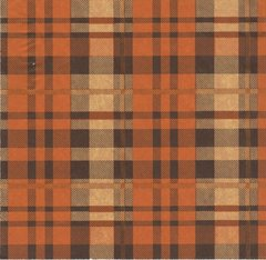 Autumn Tartan Plaid Tissue Paper - Ten Sheets