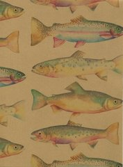 Trout Fish Heavy Gift Wrapping - 5 Ft Sheet
