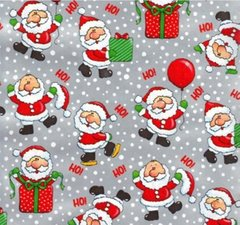 Lil' Santas Christmas Gift Wrapping Paper - 6 Ft Sheet
