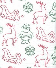 Christmas Stitch Tissue Paper - 10 Sheets.