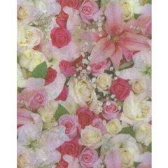 Beautiful Roses Tissue Paper - 120 Sheets